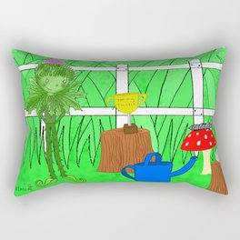 Tommy Thistle Rectangular Pillow