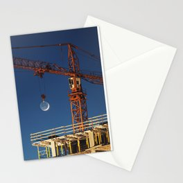Lifting the Moon Stationery Cards
