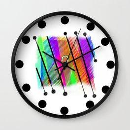 Interrogation Wall Clock