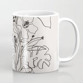 Charcoal Tropics Coffee Mug
