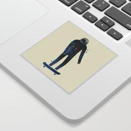 Skate/Space Sticker