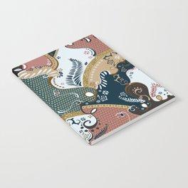 ss16 /// Handmade Arabesque I Notebook