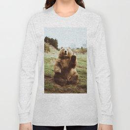 Hi Bear Long Sleeve T-shirt