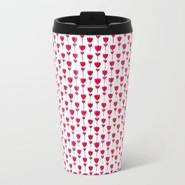 pink tulips Travel Mug
