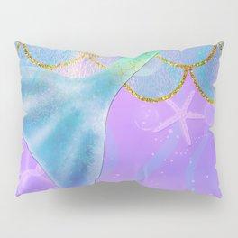Mermaid Iridescent Shimmer Pillow Sham