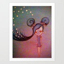 Blue Sky. Art Print