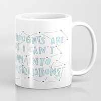 the fault Mugs featuring The Fault in Our Stars by Christa Morgan ☽