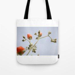 Orange & Blue & Green (Super Bloom) Tote Bag