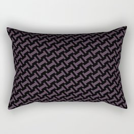 Dr. Who #11 tie pattern Rectangular Pillow