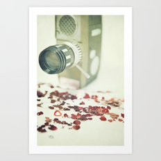 The Movie of our Love Art Print