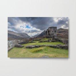 Dolbadarn Castle Snowdonia Metal Print