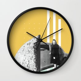 Riding In Cars Wall Clock