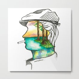 Florida Man 1 Metal Print