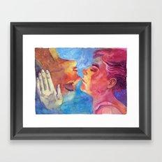 Imaicab, baciami Framed Art Print
