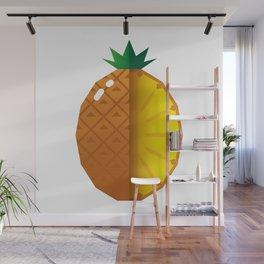 Juicy pineapple Wall Mural