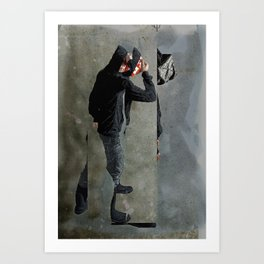 String Theory: Collapsing Wavefunction, Eighth Tangible Art Print