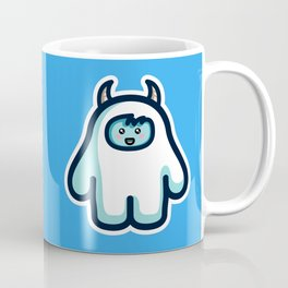 Kawaii Cute Abominable Snowman Yeti Coffee Mug