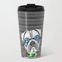 Pug quotes Freedom Travel Mug
