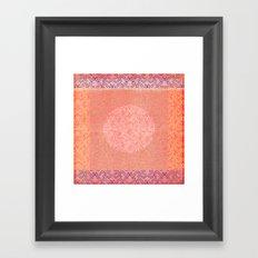 Coral Treat  Framed Art Print