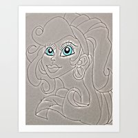gypsy Art Prints featuring Gypsy by wickedhart