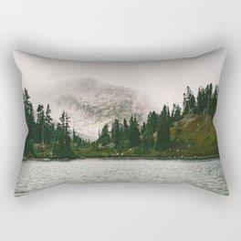 The Forest Lake Rectangular Pillow