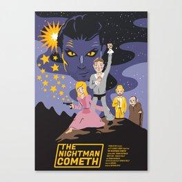 The Nightman Cometh Canvas Print