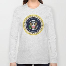 US Presidential Seal Long Sleeve T-shirt