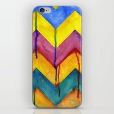 Watercolor Chevron iPhone & iPod Skin