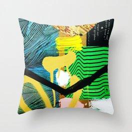 SLUM 004 Throw Pillow