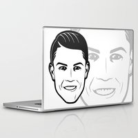 ronaldo Laptop & iPad Skins featuring ronaldo by b & c