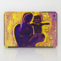 madonna iPad Cases featuring madonna rucellai by Karla Zercicov