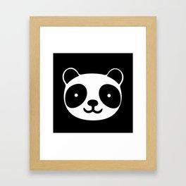 Racing Panda Framed Art Print
