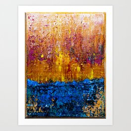 Sun will Never set for you (right side) Art Print