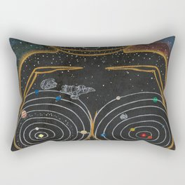 Dreams of Trappist-1 (Past the Outer Rings) Rectangular Pillow