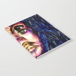 Golden Fantasy Notebook