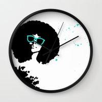 scorpio Wall Clocks featuring Scorpio by Bree Stillwell Craft