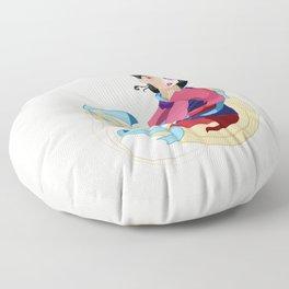 Mulan: Reflection Floor Pillow