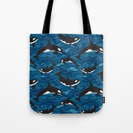Deep Sea Orca Tote Bag