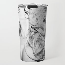0558 Sexy Fashionista Blonde Travel Mug
