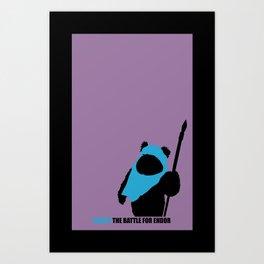 Wicket Art Print