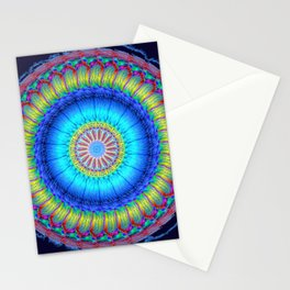 happy circle Stationery Cards