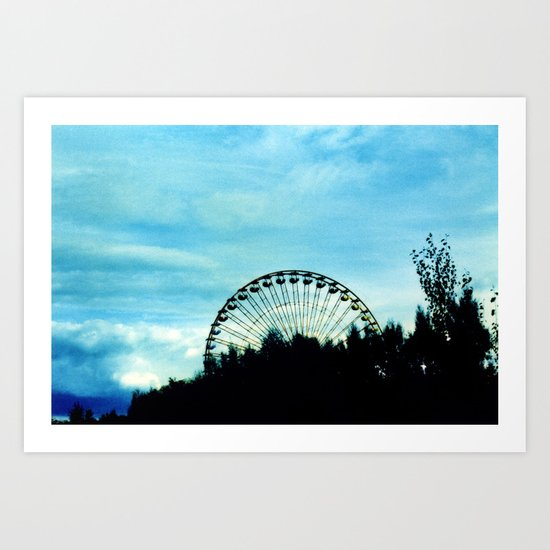 Ferris Wheel II Art Print