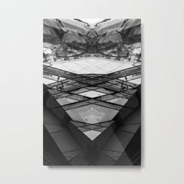 Duplex I Metal Print