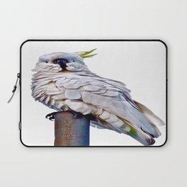 White Cockatoo Laptop Sleeve