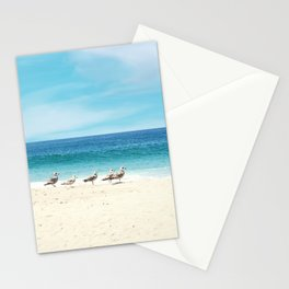 wave watching Stationery Cards