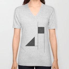 flags #004 Unisex V-Neck