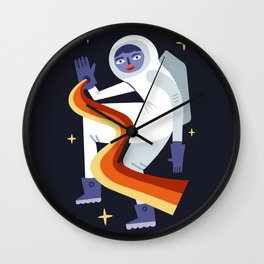 Space Mambo Wall Clock
