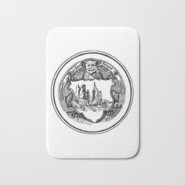 Conquest of the New World Bath Mat