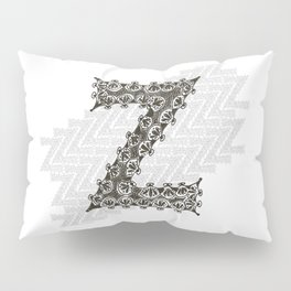 Color Me Z Pillow Sham