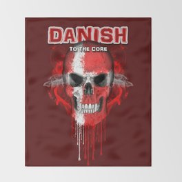 To The Core Collection: Denmark Throw Blanket